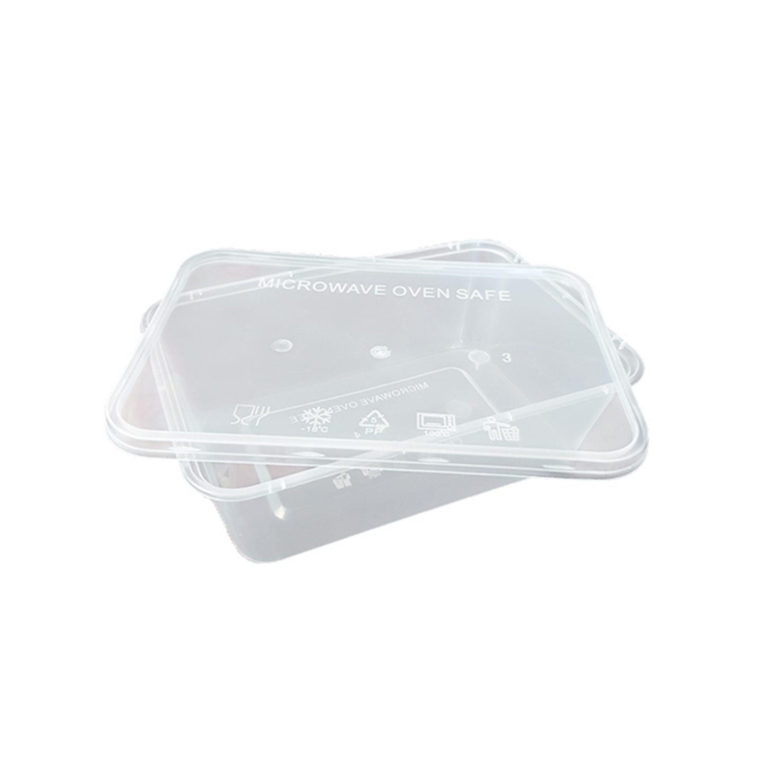 Supplier Kotak Makan Plastik Murah dan Berkualitas - Thinwall Kotak 1000 ml