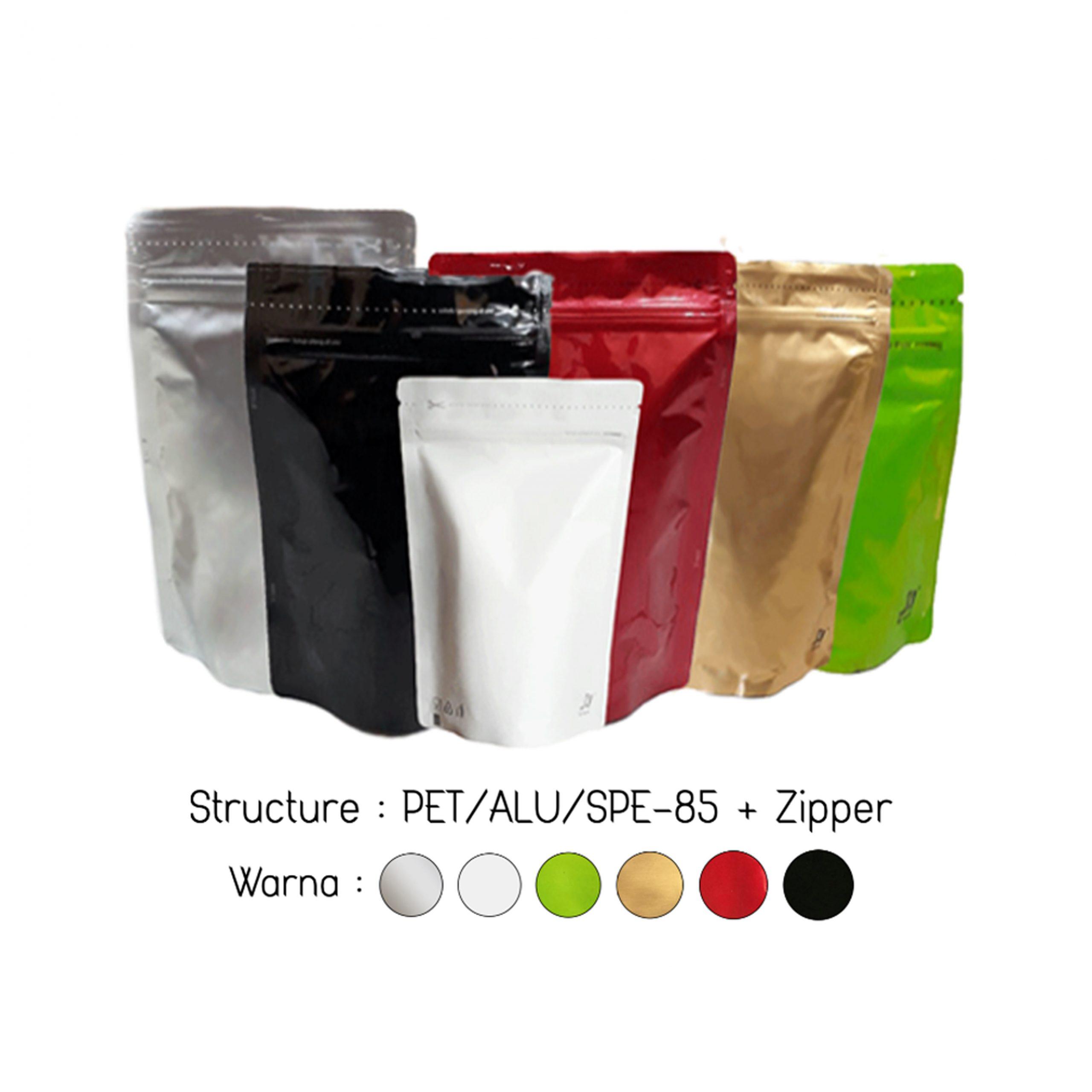 Distributor Pouch Padat Super Berbagai Warna dan Ukuran