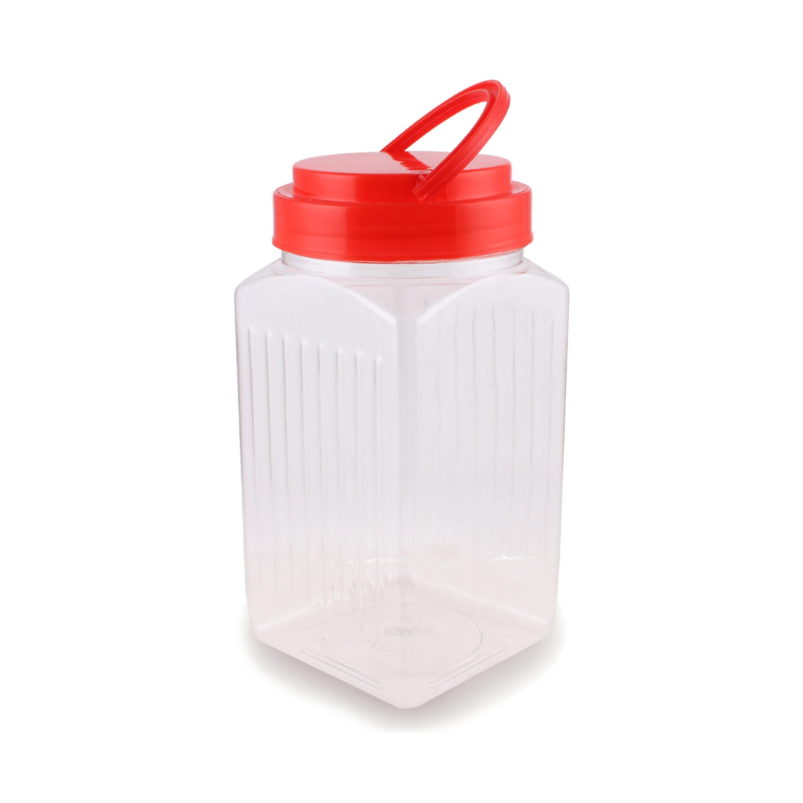 Toko Grosir Plastik PET Surabaya - Toples Kotak 1 Kg