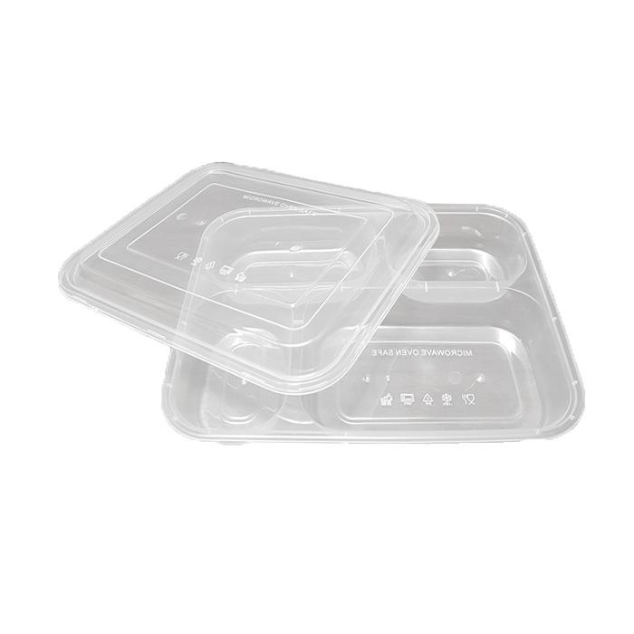Supplier Kotak Bento Murah - Thinwall Sekat 4 Bento Box