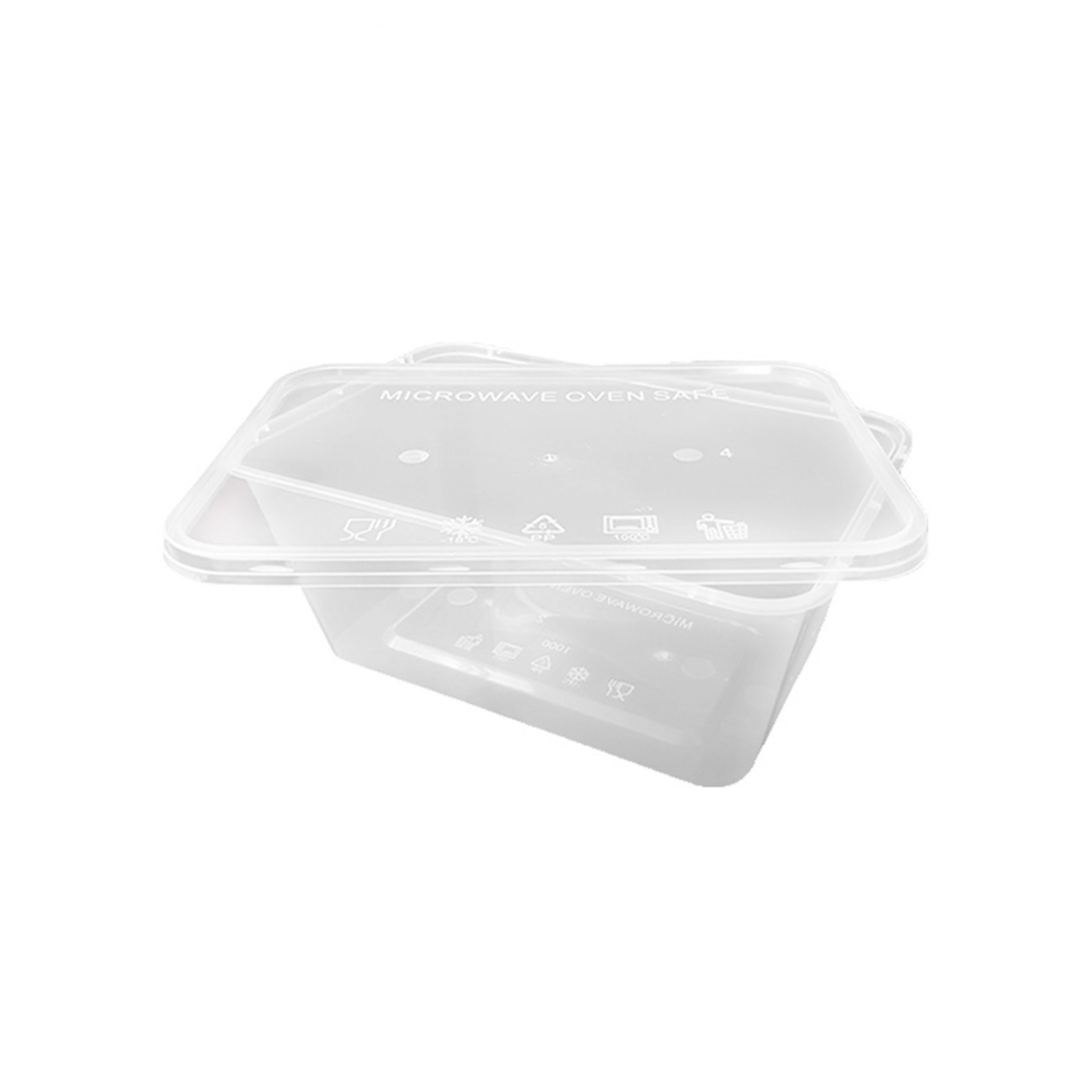 Thinwall Kotak 1000 ml - Distributor Kotak Makan Plastik